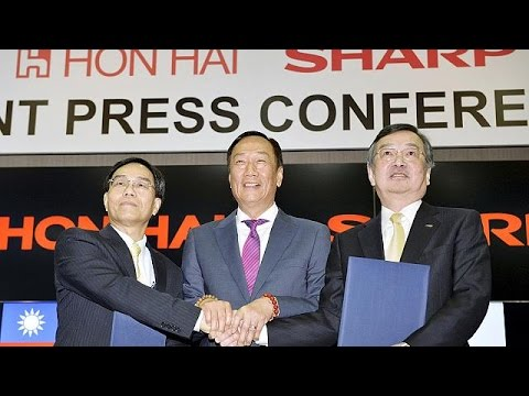 Foxconn and Sharp sign big takeover deal