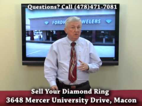 Sell Your Diamond Rings At Fordhamn Jewelers (Macon, GA)