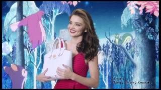 Miranda Kerr / Samantha Thavasa -キミにメリークリスマス- TVCM