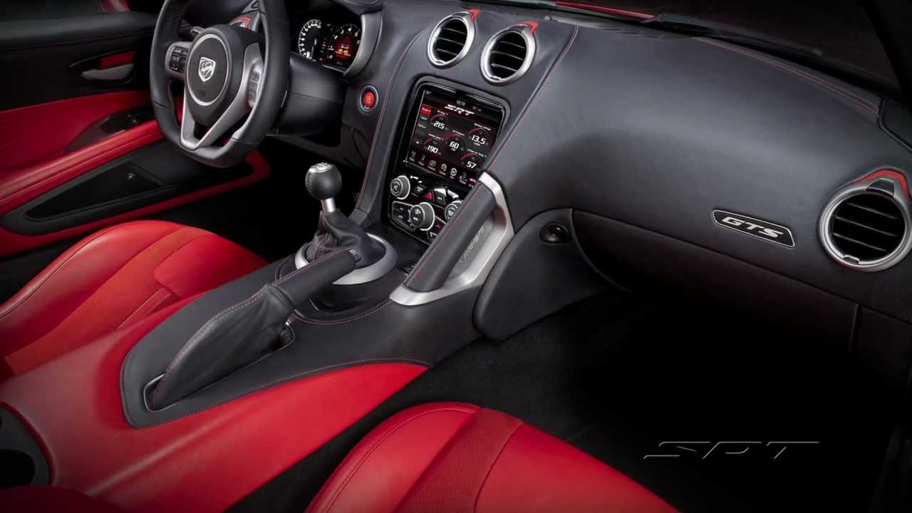 Interior Design Of The 2013 Srt Viper Youtube