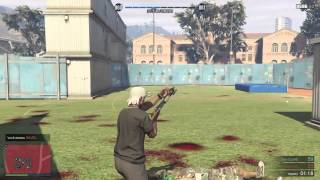 Gta V Online - RMDA Vs TASK ( Run N Gun )