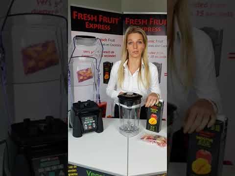 Fresh Fruit Express Preparation Smoothie Waring Blender English