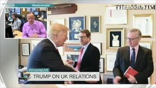 Donald Trump wants a fast trade deal with UK