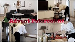 Advent Putzroutine | Aufräumen am Wochenende | Putzen |