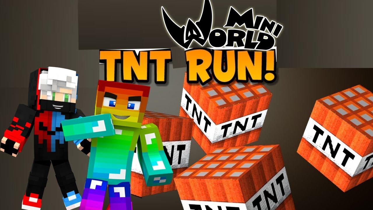 MINI GAME : TNT RUN VÀ SKYWARS TRONG MINI WORLD CÓ GÌ KHÁC ? THỬ THÁCH CHIẾN THẮNG PIXEL MINI GAME