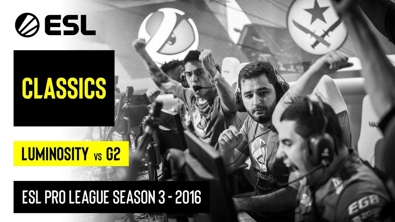 ESL Classics: ESL Pro League Season 3 London Finals Luminosity Gaming vs. G2