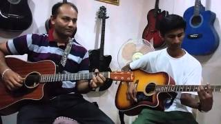 Yeh shaam mastani guitar chords & lead guitar evergreen song Rajesh khanna movie aaradhna