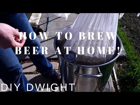 DIY BEER BREWING - HOW TO BREW BEER AT HOME!