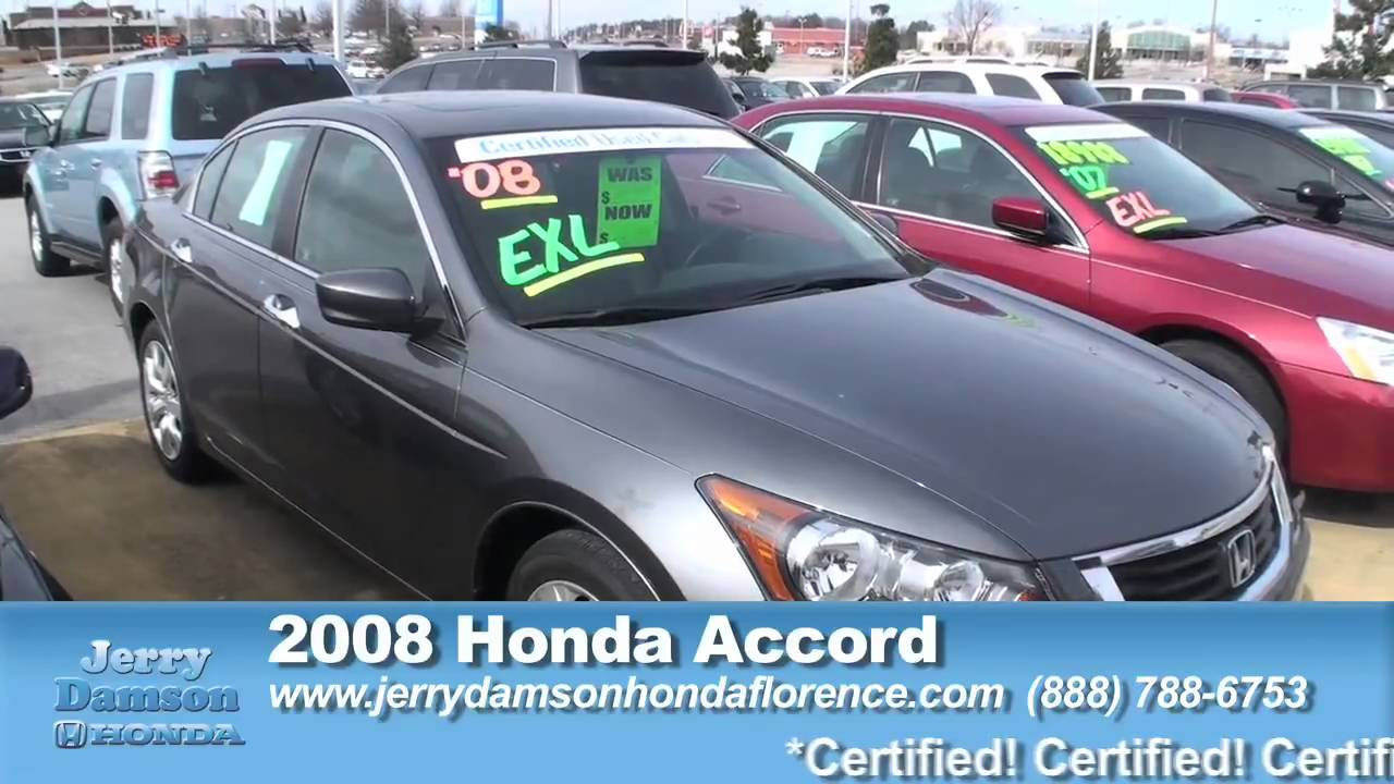 Jerry Damson Honda Florence Clearance Zone Mov