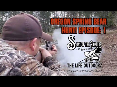 Oregon Muzzleloader Spring Bear Hunt Series: Episode 1 Is Mr. Big Still Around.