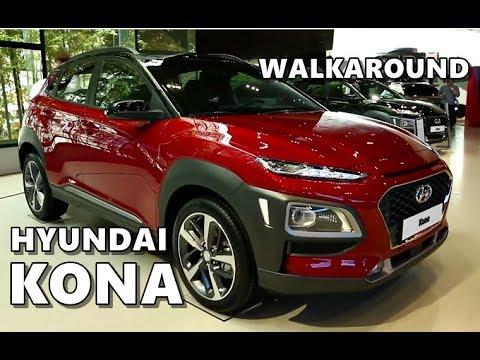 2018 Hyundai Kona Walkaround Exterior, Interior, Specs