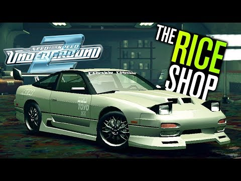 Need for Speed Underground 2 Let's Play - The RICE Shop is Open! (Part 9)