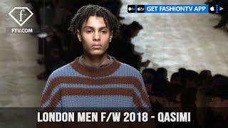 Qasimi London Fashion Week Men Fall/Winter 2018 Urban Nomad Collection | FashionTV | FTV