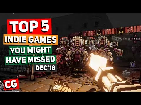 Top 5 Indie Games You Might Have Missed – December 2018 thumbnail