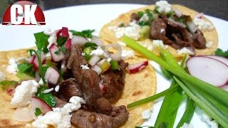 How To Make Steak Tacos - Chef Kendra's Easy Cooking!