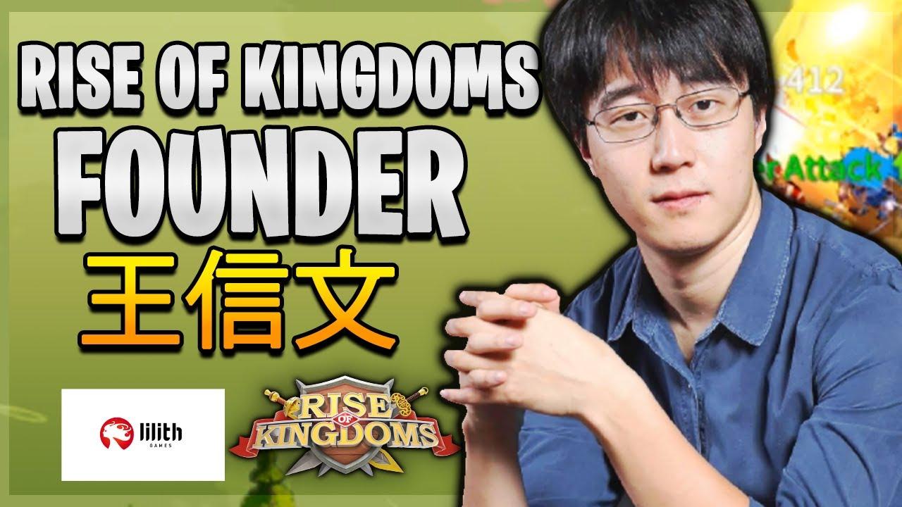 "Bit of a ""MAVERICK"" 🤔 Founder of Rise of Kingdoms *Wang Xinwen 王信文* Lilith Games [ $477M Revenue ]"