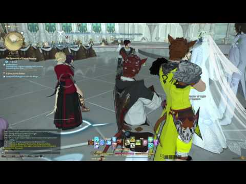 FINAL FANTASY XIV Wedding of Lili and Silver Pt 3