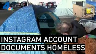 Filth, Rats in Homeless Encampments Documented on Instagram | NBCLA