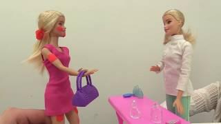 Барби идет в солярий! Мультик Барби для девочек