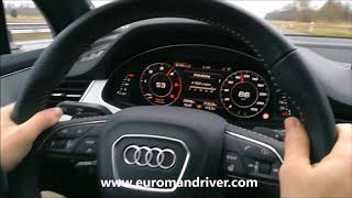 Audi Q7 2018 Test Drive Review With EuromanDriver