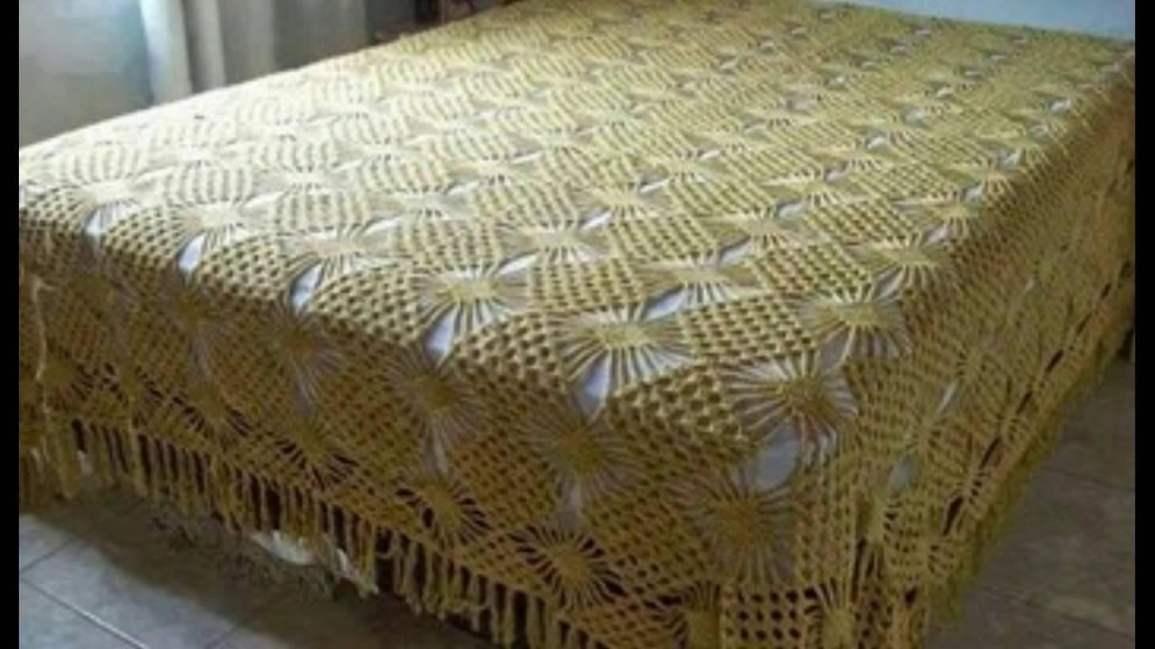 Colchas en lvariado modelos para camas tejidos a crochet for Modelos de cama
