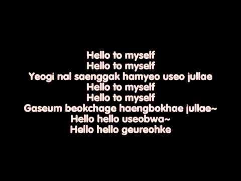 [Lyrics] Hello To Myself - Yenny ( Wonder Girls )