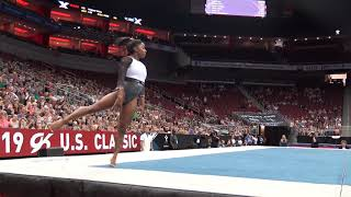 Simone Biles - Floor Exercise - 2019 GK U.S. Classic - Senior Competition