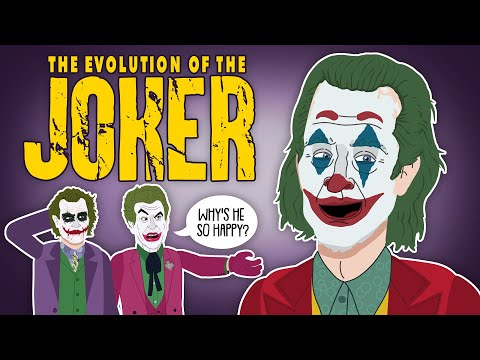 The Evolution Of The Joker (Animated)