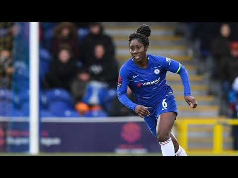 Ed Accura Interviews England football Defender Anita Asante