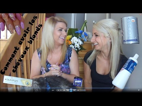 Comment se teindre/bleacher en blond à la maison