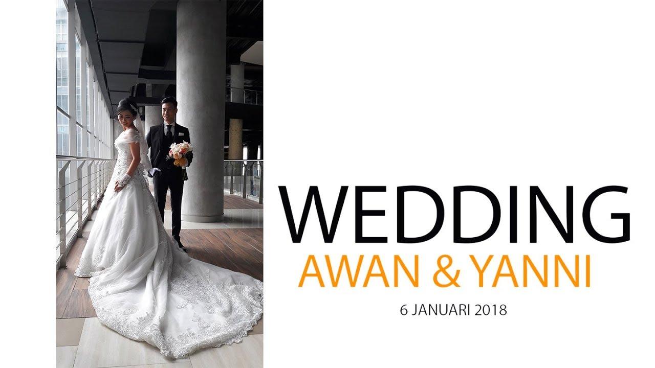 Vlog - wedding Awan & yanni - YouTube