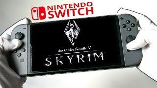 SKYRIM ON NINTENDO SWITCH! Gameplay Elder Scrolls V: Skyrim