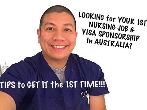 APPLYING For YOUR 1ST NURSING JOB & VISA SPONSORSHIP In AUSTRALIA??? Here Are Some TIPS!!!