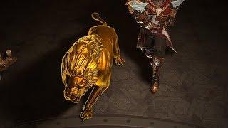 Path of Exile: Gold Lion Pet