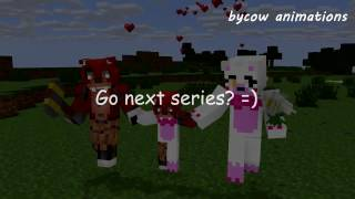 FNAF Monster School: Mangle and Foxy Love Story - Minecraft Animation (Five Nights At Freddy's )