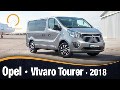 Opel Vivaro Tourer 2018 Prueba Test Analisis Review En Espanol Youtube