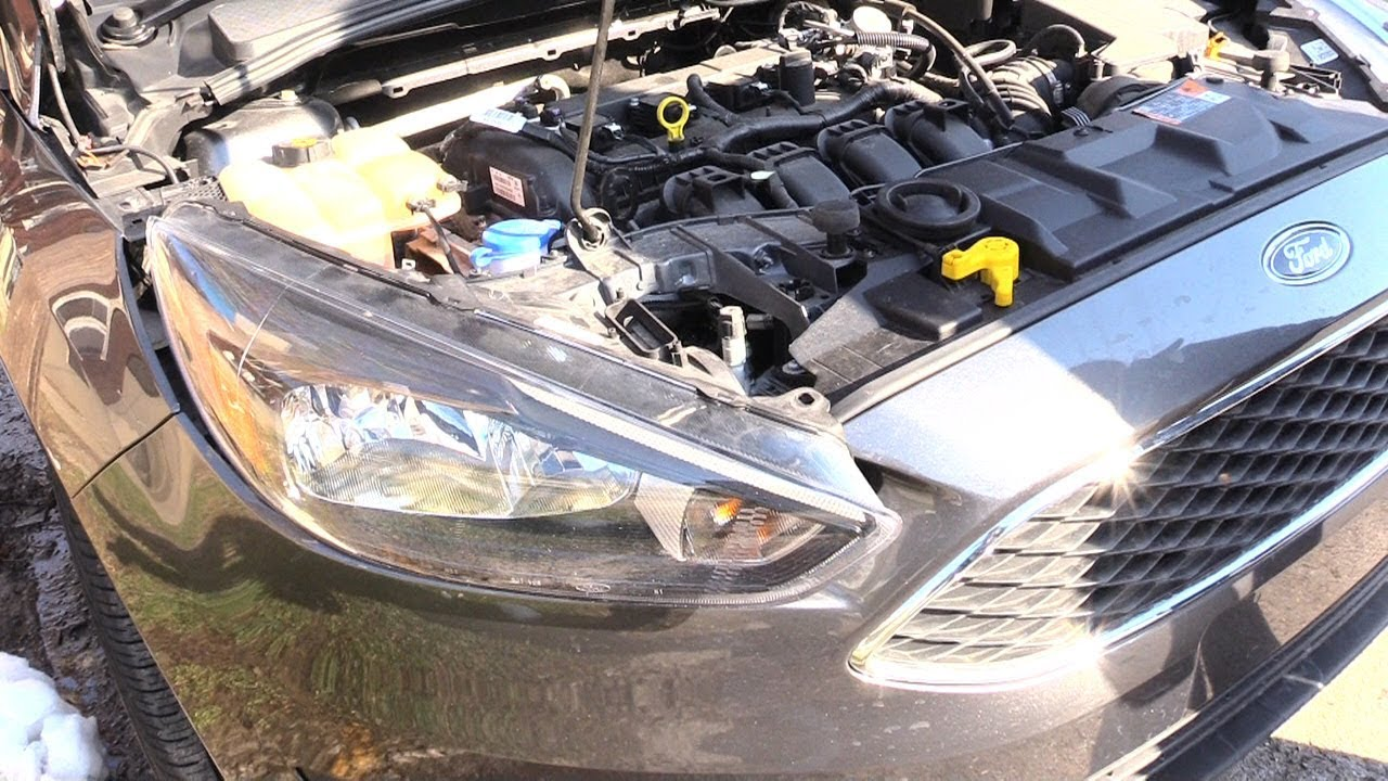 Ford Focus Headlight Embly Change 2017 Same For Many Years