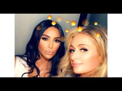 Kim Kardashian Posts Throwback Pics in Honor of Paris Hilton's Birthday: 'Love You'