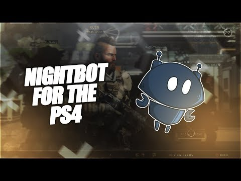 How to set up Nightbot from the PS4 [without a computer