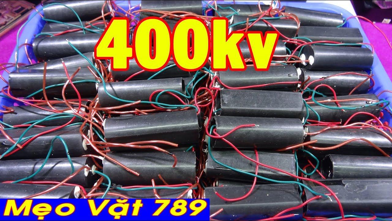 Test MODULE kích điện cao áp 400kv và 50kv – Test MODULE high voltage 400kv and 50kv