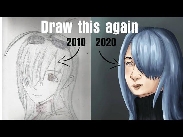 DRAW THIS AGAIN - Je refais un dessin d'il y a 10 ans !