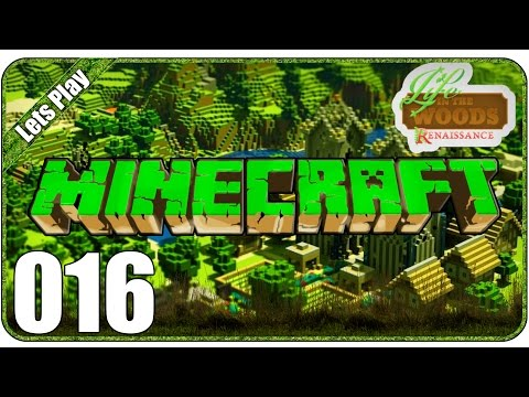 LIFE IN THE WOODS #016 - NAHRUNG! | Let's Play Minecraft
