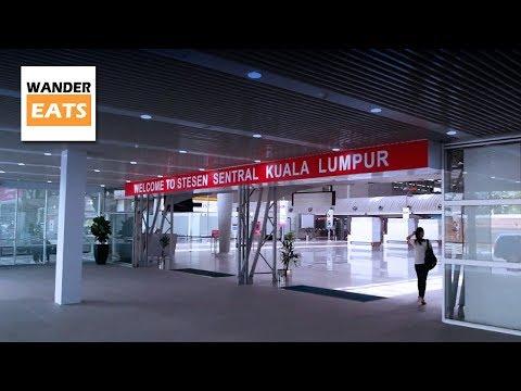 Walk: Muzium Negara MRT Station to KL Sentral & Nu Sentral Mall