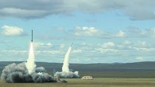 Пуски крылатых ракет ОТРК «Искандер-М» в ходе активной фазы маневров «Восток-2018»