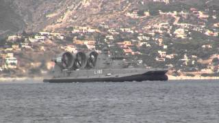 GREEK NAVY HOVERCRAFT KEFALONIA L-180 (ZUBR CLASS)