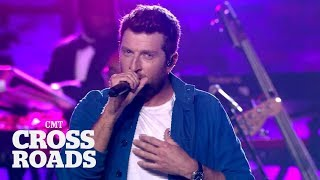 Brett Eldredge and Meghan Trainor Perform