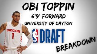 Obi Toppin Draft Scouting Video | 2020 NBA Draft Breakdowns