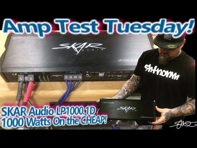 Amp Test Tuesday! SKAR Audio LP1000.1D - 1000 Watts on the Cheap! (win it!)