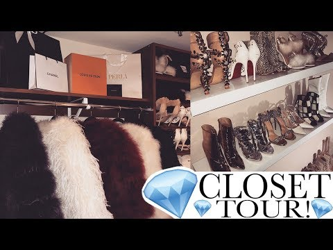 MY DREAM CLOSET TOUR!