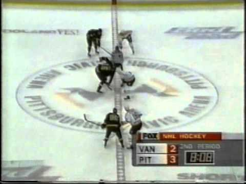 1996-97: Penguins vs. Canucks (02/04/1997) (Jagr and Mullen Score)